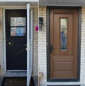 American Window & Siding Inc Door Installation in River Grove Illinois