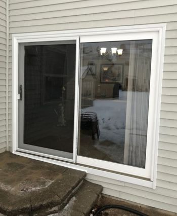 Patio Doors Installed by American Window & Siding Inc